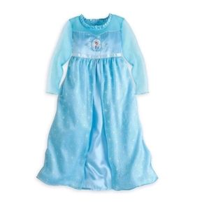 Disney Store Frozen Elsa Princess Nightgown Dress